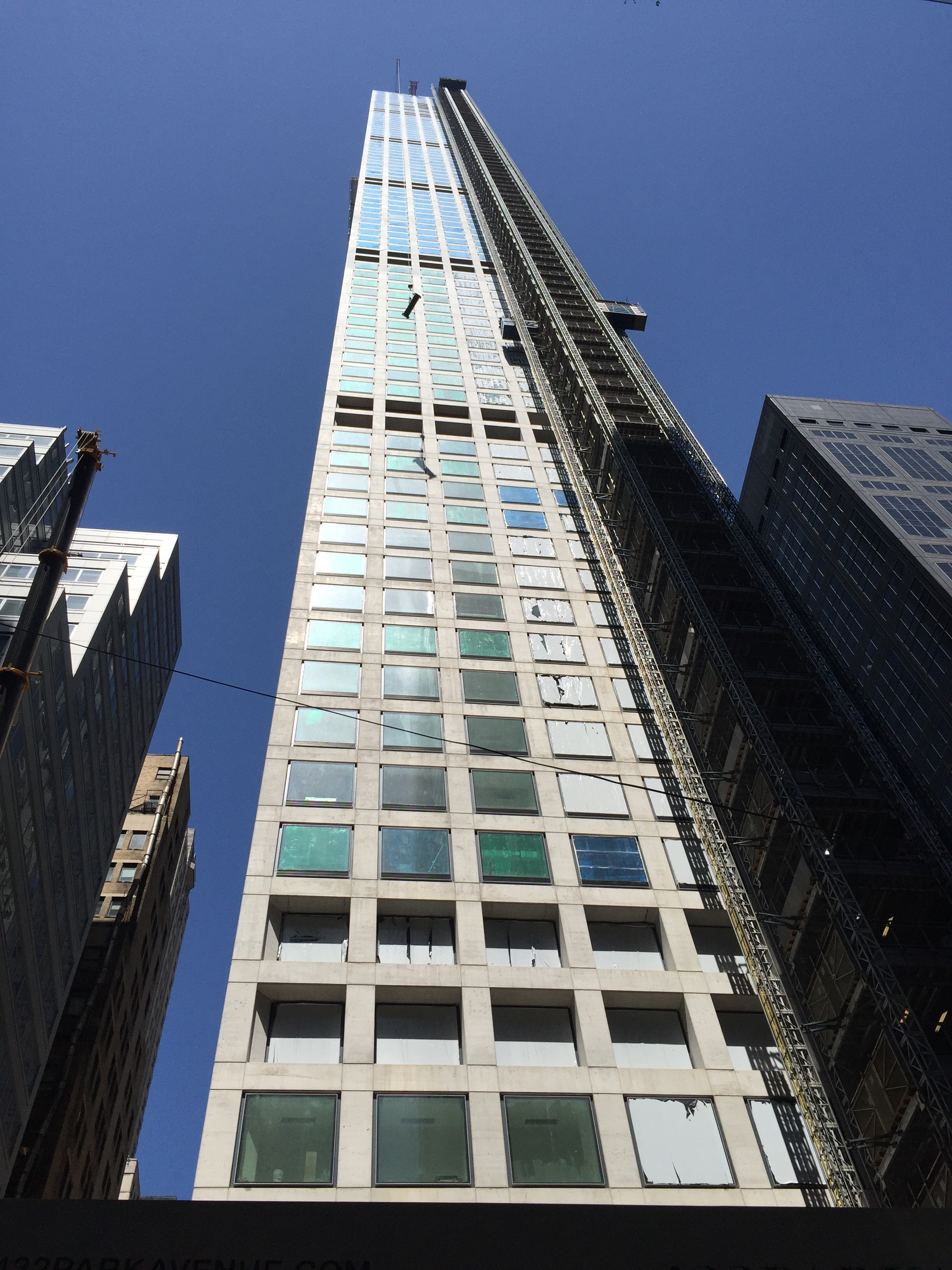 Manhattan's newest and most controversial residential tower- 432 Park Avenue