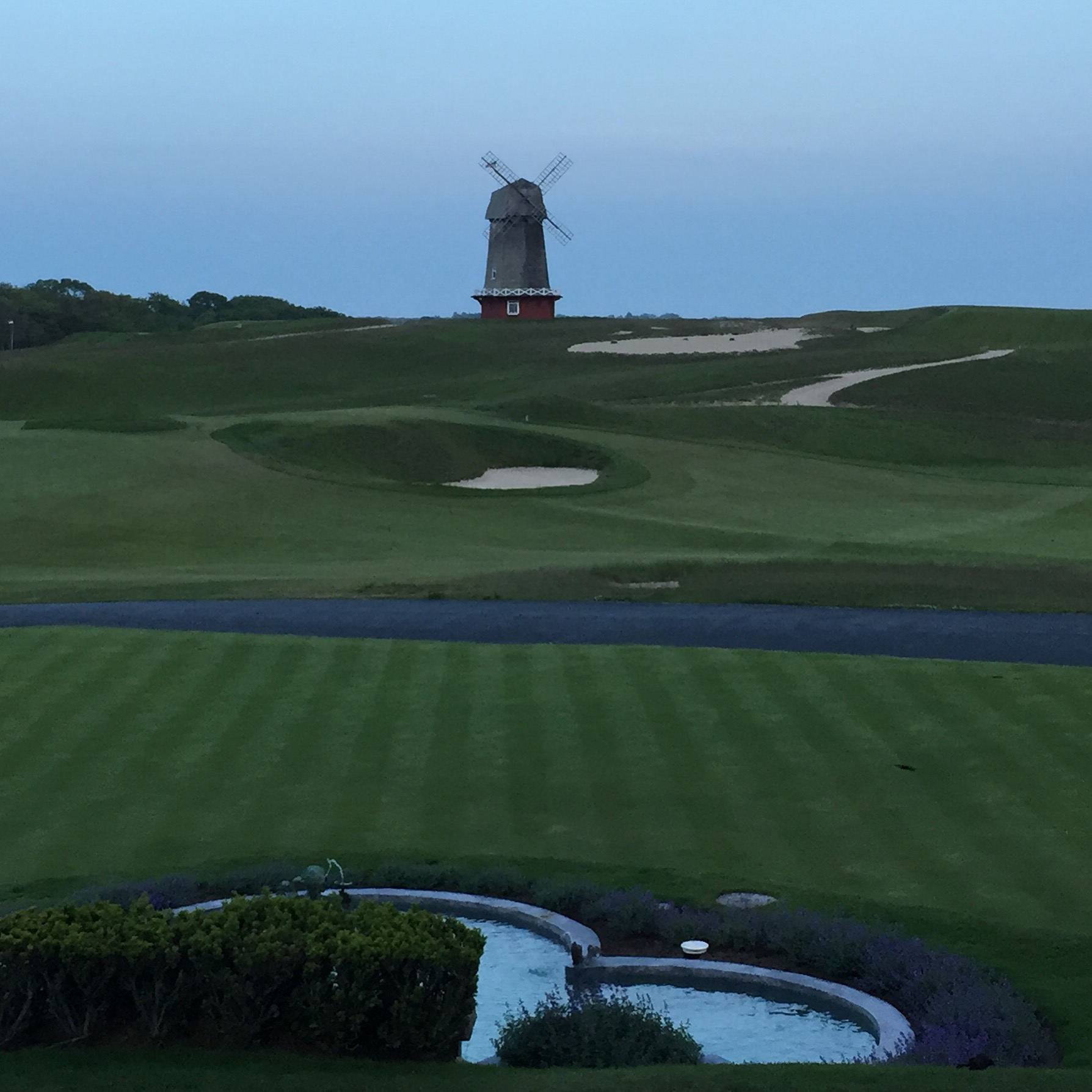#1 at National Golf Links and the iconic windmill . . .